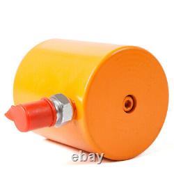 Forte Puissance 20 Tonnes 45mm Course Cylindre Hydraulique Jack Ram Durable Basse Hauteur