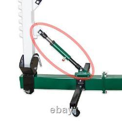 Jackco 10 Ton 6 Course Ram Hydraulique Avec Adaptateurs
