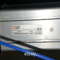 Metalwork 135a800400ap Cylindre Pneumatique Actionneur Ram 80 Bore 400 Stroke