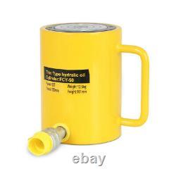 Nouveau 50 Tonnes 4 Stroke Single Acting Hydraulic Cylinder 10000psi Jack Ram