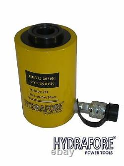Pompe À Air Comprimé Avec Cylindre À Ram Creux À Action Unique (20tons 2)