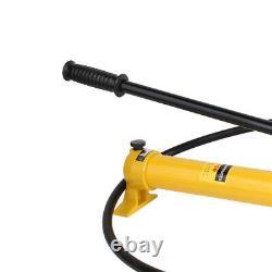 Pompe À Main Hydraulique Pour Cylindres À Ram Hydraulique De 10 Tonnes Léger Max 10000psi