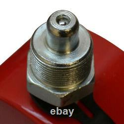 Profilé De 100 Tonnes De Faible Hauteur Cylindre Hydraulique Jack Ram Lifting 16mm Stroke