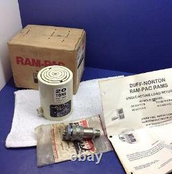 Ram Pac R-20-h-4.7-b Cylindre Hydraulique De 20 Tonnes De Basse Hauteur 2,25 Atteinte USA Made