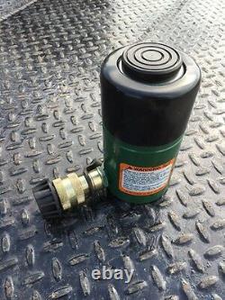 Simplex 25 Ton 2 Cylindre Hydraulique R252 50 000 Lb Capacité Ram
