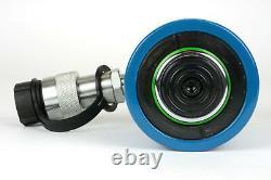 Temco Hc0009 Cylindre Hydraulique Ram Simple Agissant 20 Ton 2 Pouces