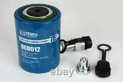 Temco Hc0012 Cylindre Hydraulique Ram Simple Acting 30 Ton 2 Inch Stroke