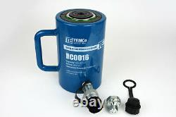 Temco Hc0016 Cylindre Hydraulique Ram Simple Acting 50 Ton 4 Inch Stroke