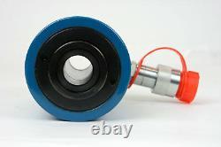 Temco Hollow Hydraulic Cylinder Ram 20 Ton 2 In Stroke 5 Year Garantie