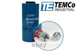 Temco Hollow Hydraulic Cylinder Ram 20 Ton 4 In Stroke 5 Year Garantie