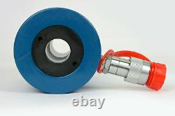 Temco Hollow Hydraulic Cylinder Ram 30 Ton 2 In Stroke 5 Year Garantie