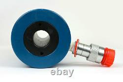 Temco Hollow Hydraulic Cylinder Ram 30 Ton 4 In Stroke 5 Year Garantie