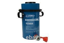 Temco Hollow Hydraulic Cylinder Ram 60 Ton 4 In Stroke 5 Year Garantie