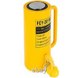 Vevor Cylindre Hydraulique Jack 20t 6 Temps D'action Unique10000psi Jack Ram
