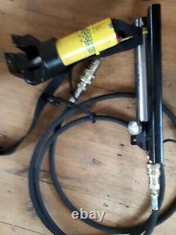 Weber Hydraulik Hydraulique Jack And Pump, Cylindre Ram Rescue Kit Ouvre-porte